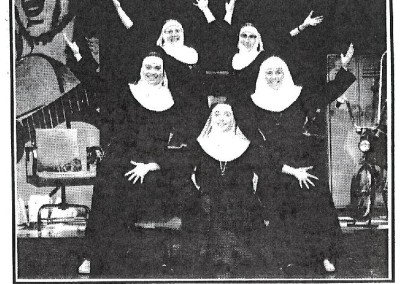 Nunsense Newspaper Clipping